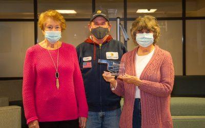 Pollinator/Monarch Garden wins State Award!
