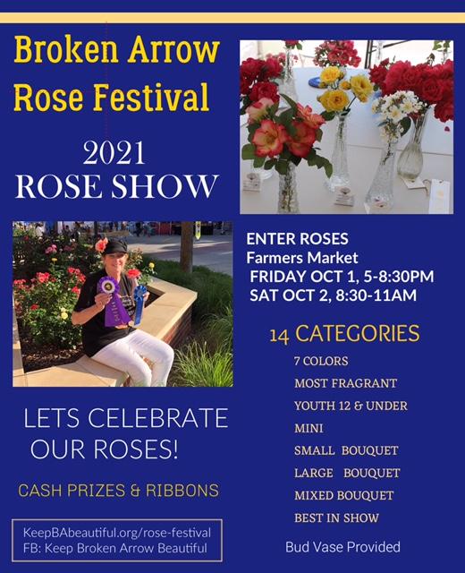 Rose Festival Rose Show
