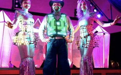 Circus Glow Show this Friday at the Rose Show