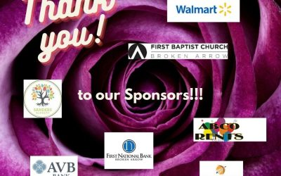 Shout Out to Our Generous Sponsors!!