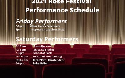 Rose Festival Performer Line Up