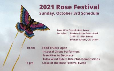 Rose Kites Over Broken Arrow Takes Flight Today!