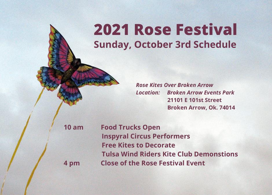 Rose Kites Over Broken Arrow